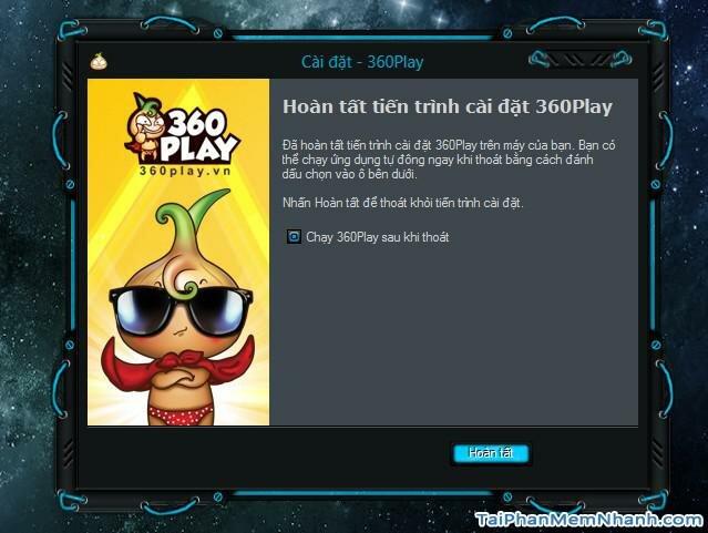 Khởi chạy 360Play