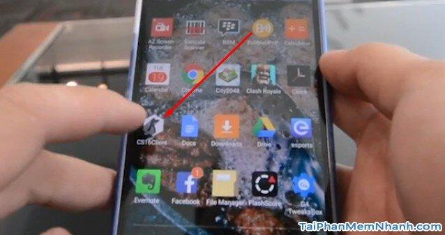 Chơi game Counter Strike 1.6 trên điện thoại Android