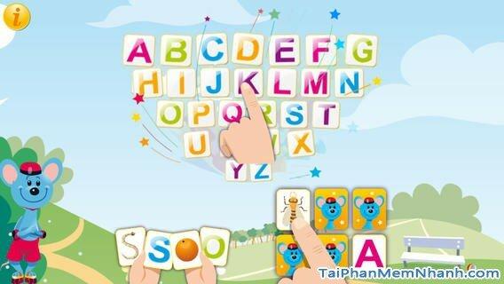 Hình 2 - Tải ABC Comic Capital Letters - Bảng chữ cái cho iPhone, iPad