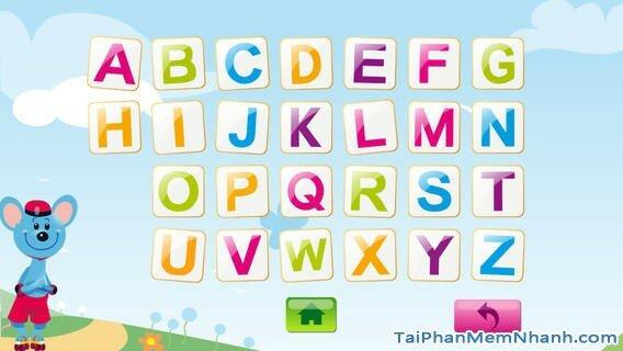 Hình 3 - Tải ABC Comic Capital Letters - Bảng chữ cái cho iPhone, iPad