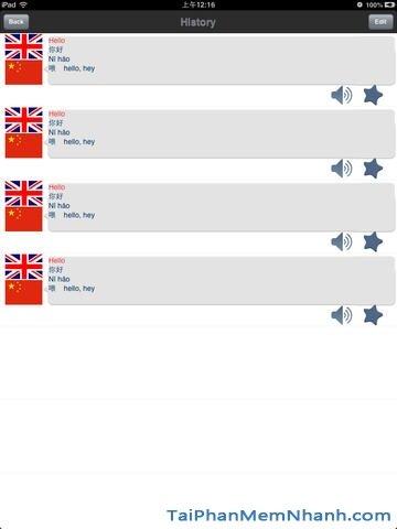 Hình 4 - Tải ứng dụng dịch ngôn ngữ Hello Translator HD cho iPad, iPhone