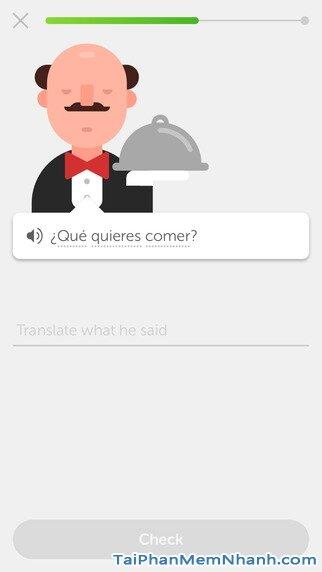 Hình 4 - Tải Duolingo - Ứng dụng học ngôn ngữ trên iPad, iPhone