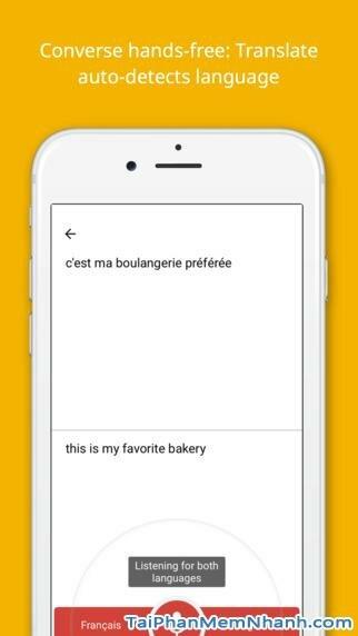 Hình 4 - Tải Google Translate - Ứng dụng dịch văn bản cho iPhone, iPad