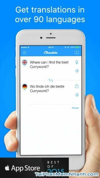 Hình 2 - Tải iTranslate - Ứng dụng biên dịch ngôn ngữ cho iPhone, iPad