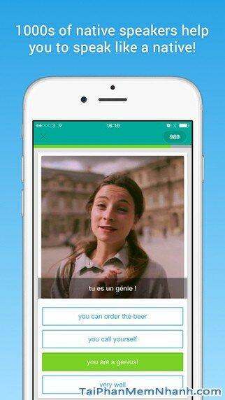 Hình 3 - Tải và cài đặt Memrise - Học hơn 100 ngôn ngữ cho điện thoại iphone