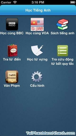 Hình 2 - Tải ứng dụng Học anh văn - phần mềm học tiếng anh cho iPhone, ipad