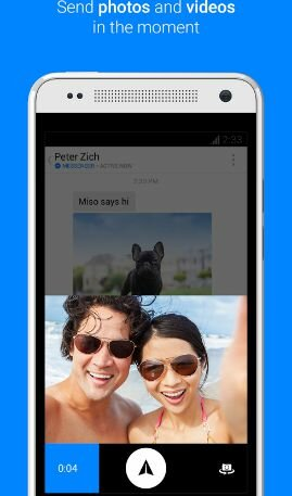 Hình 4 - Giới thiệu và tải ứng dụng Messenger cho Android
