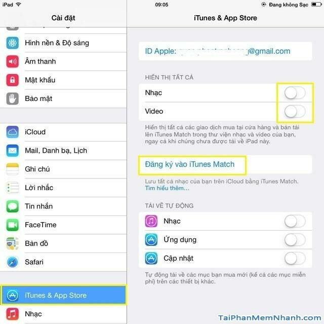 Hình 2 - Hướng dẫn xóa bài hát trên điện thoại iPhone và iPad