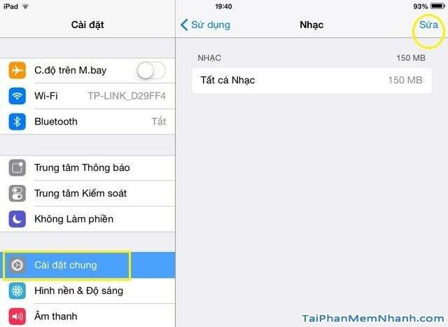 Hình 6 - Hướng dẫn xóa bài hát trên điện thoại iPhone và iPad