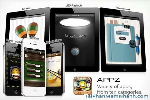 Hình 4 - Tải Free AppZ - Ứng dụng tra từ điển cho iPhone, iPad