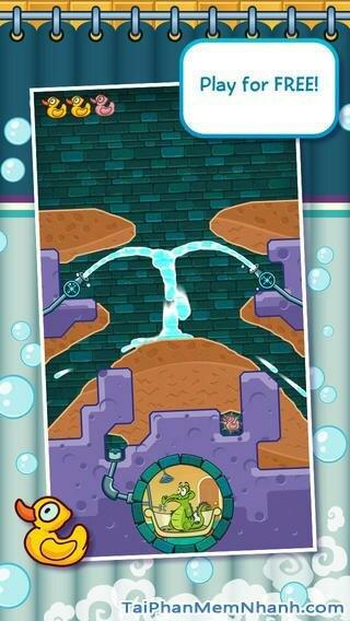 Hình 2 - Tải trò chơi tắm cho cá sấu Where My Water cho iPhone, iPad