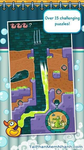 Hình 3 - Tải trò chơi tắm cho cá sấu Where My Water cho iPhone, iPad