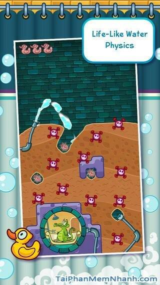 Hình 4 - Tải trò chơi tắm cho cá sấu Where My Water cho iPhone, iPad