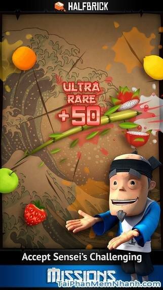 Hình 2 - Tải trò chơi chém trái cây Fruit Ninja cho iPhone, iPad