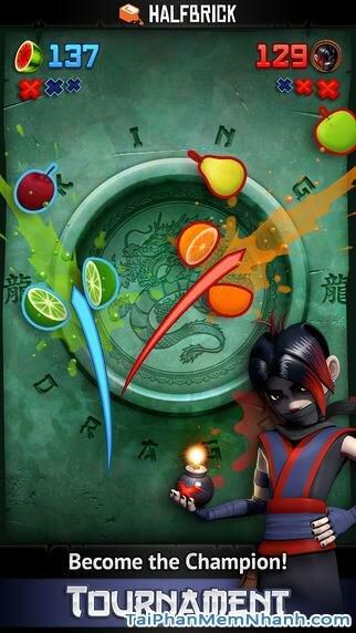 Hình 3 - Tải trò chơi chém trái cây Fruit Ninja cho iPhone, iPad
