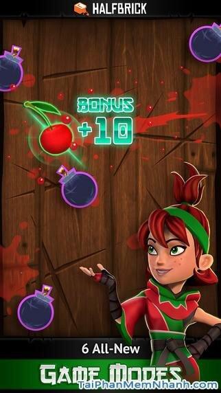 Hình 4 - Tải trò chơi chém trái cây Fruit Ninja cho iPhone, iPad