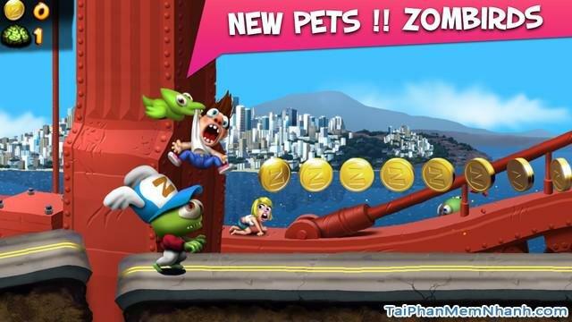 Hình 2 - Tải Zombie Tsunami - Game sóng thần cho iPhone, iPad