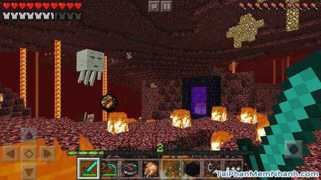 Hình 3 - Tải game xây dựng thế giới Minecraft cho iPhone, iPad