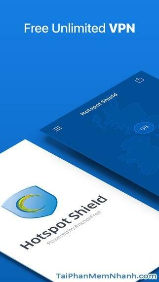 Hình 2 - Tải ứng dụng vượt tường lửa Hotspot Shield cho iPhone, iPad