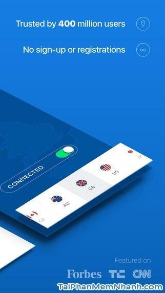 Hình 3 - Tải ứng dụng vượt tường lửa Hotspot Shield cho iPhone, iPad