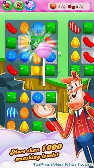 Hình 4 - Tải game kẹo ngọt Candy Crush Saga cho iPhone, iPad