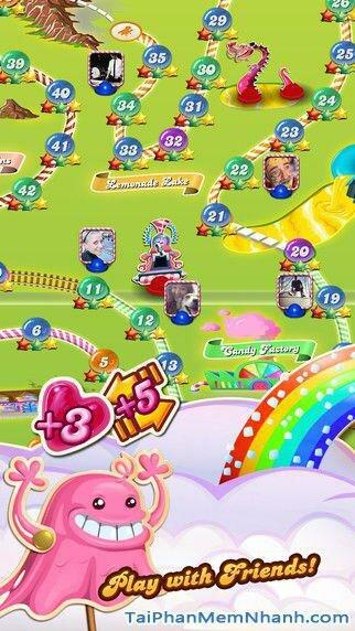 Hình 5 - Tải game kẹo ngọt Candy Crush Saga cho iPhone, iPad