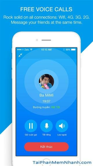 Hình 2 - Tải Zalo - Ứng dụng gọi điện, nhắn tin miễn phí cho iPhone, iPad