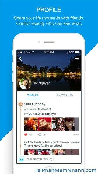 Hình 4 - Tải Zalo - Ứng dụng gọi điện, nhắn tin miễn phí cho iPhone, iPad