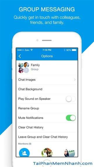 Hình 6 - Tải Zalo - Ứng dụng gọi điện, nhắn tin miễn phí cho iPhone, iPad