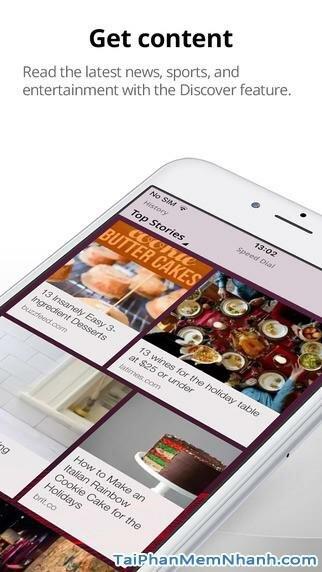 Hình 3 - Tải Opera Mini  - Ứng dụng lướt Web nhanh cho iPhone, iPad