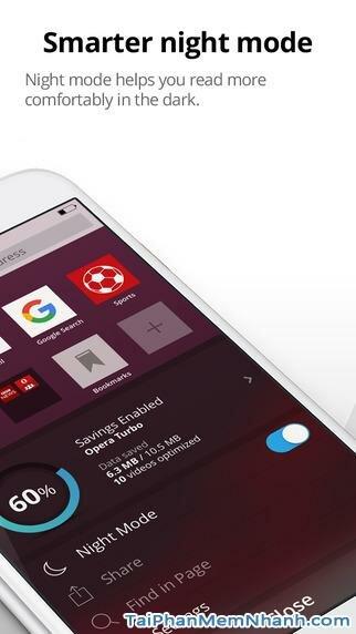 Hình 6 - Tải Opera Mini  - Ứng dụng lướt Web nhanh cho iPhone, iPad