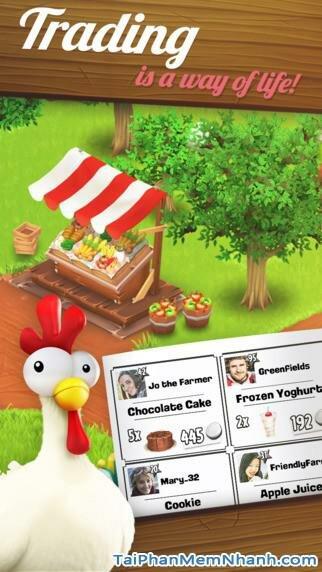 Hình 3 - Tải trò chơi nông trại Hay Day cho iPhone, iPad