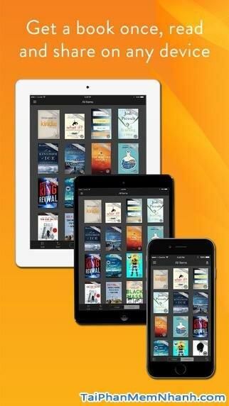 Hình 2 - Tải phần mềm đọc truyện Kindle cho iPhone, iPad