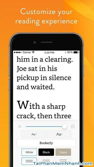 Hình 4 - Tải phần mềm đọc truyện Kindle cho iPhone, iPad