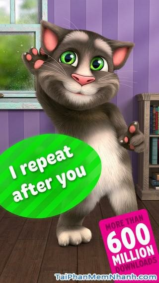 Hình 2 - Tải Talking Tom Cat 2 cho iPhone, iPad