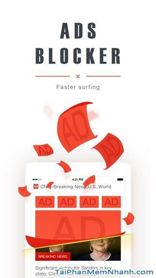 Hình 2 - Tải UC Browser - Ứng dụng trình duyệt tiếng Việt cho iPhone, iPad