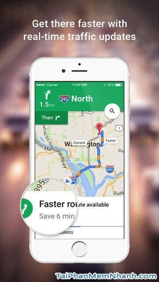 Hình 2 - Tải ứng dụng Xem bản đồ Google Maps cho iPhone, iPad