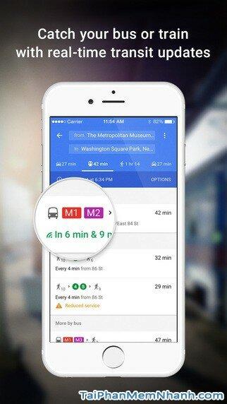 Hình 3 - Tải ứng dụng Xem bản đồ Google Maps cho iPhone, iPad