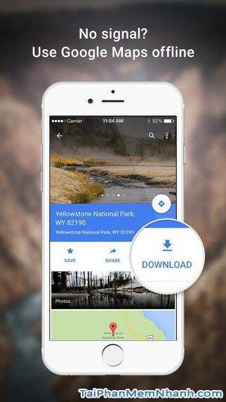 Hình 5 - Tải ứng dụng Xem bản đồ Google Maps cho iPhone, iPad