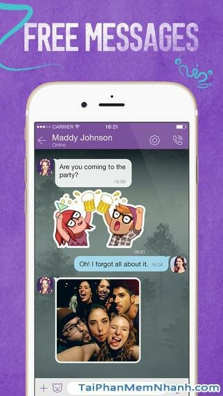 Hình 2 - Tải Viber - Ứng dụng gọi điện, nhắn tin miễn phí cho iPhone, iPad