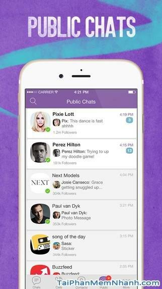 Hình 7 - Tải Viber - Ứng dụng gọi điện, nhắn tin miễn phí cho iPhone, iPad