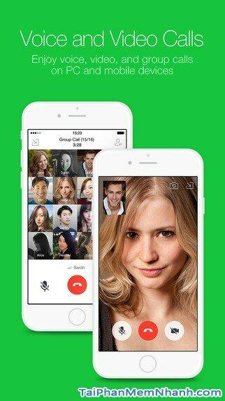Hình 3 - Tải Line - Ứng dụng nhắn tin, gọi điện miễn phí cho iPhone, iPad