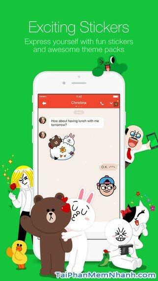 Hình 4 - Tải Line - Ứng dụng nhắn tin, gọi điện miễn phí cho iPhone, iPad