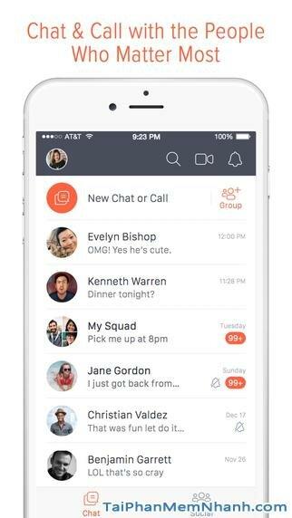 Hình 2 - Tải Tango - Ứng dụng nhắn tin, gọi điện thoại, video cho iPhone, iPad