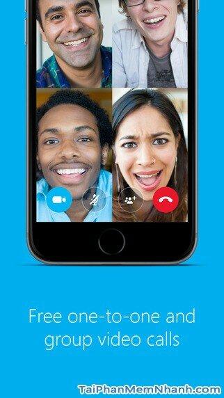Hình 2 - Tải Skype - Ứng dụng gọi video, nhắn tin miễn phí cho iPhone, iPad