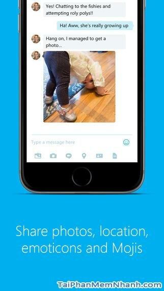 Hình 4 - Tải Skype - Ứng dụng gọi video, nhắn tin miễn phí cho iPhone, iPad