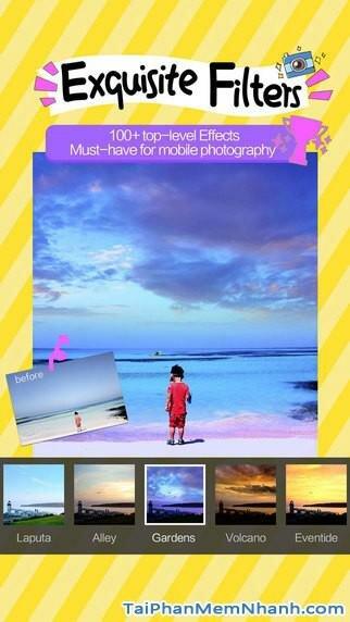 Hình 5 - Tải Camera 360 - Ứng dụng chụp ảnh chuyên nghiệp cho iPhone, iPad