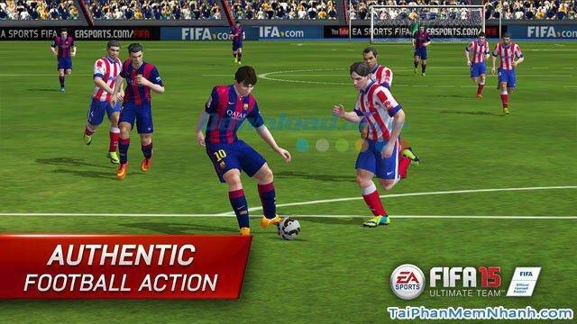 Hình 2 Tải trò chơi bóng đá FIFA 15 Ultimate Team cho iPhone, iPad