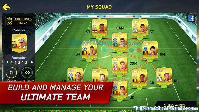 Hình 3 Tải trò chơi bóng đá FIFA 15 Ultimate Team cho iPhone, iPad
