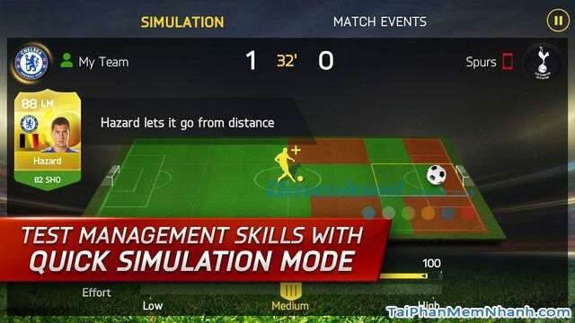 Hình 4 Tải trò chơi bóng đá FIFA 15 Ultimate Team cho iPhone, iPad